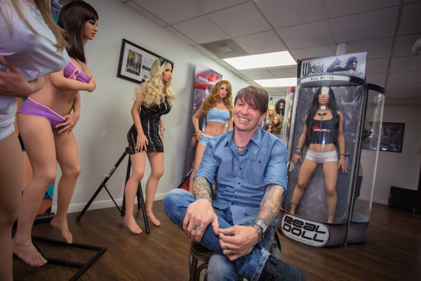Matt McMullen, owner of Abyss Creations in San Marcos California is the leading seller of female life size silicone love dolls. Now, he's taking that success a step further using technology similar to personal assistant software like Siri and Alexa .