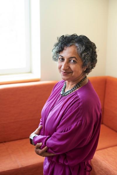 Charles A. Dana Professor of Gender, Sexuality & Feminist Studies Sujata Moorti.
