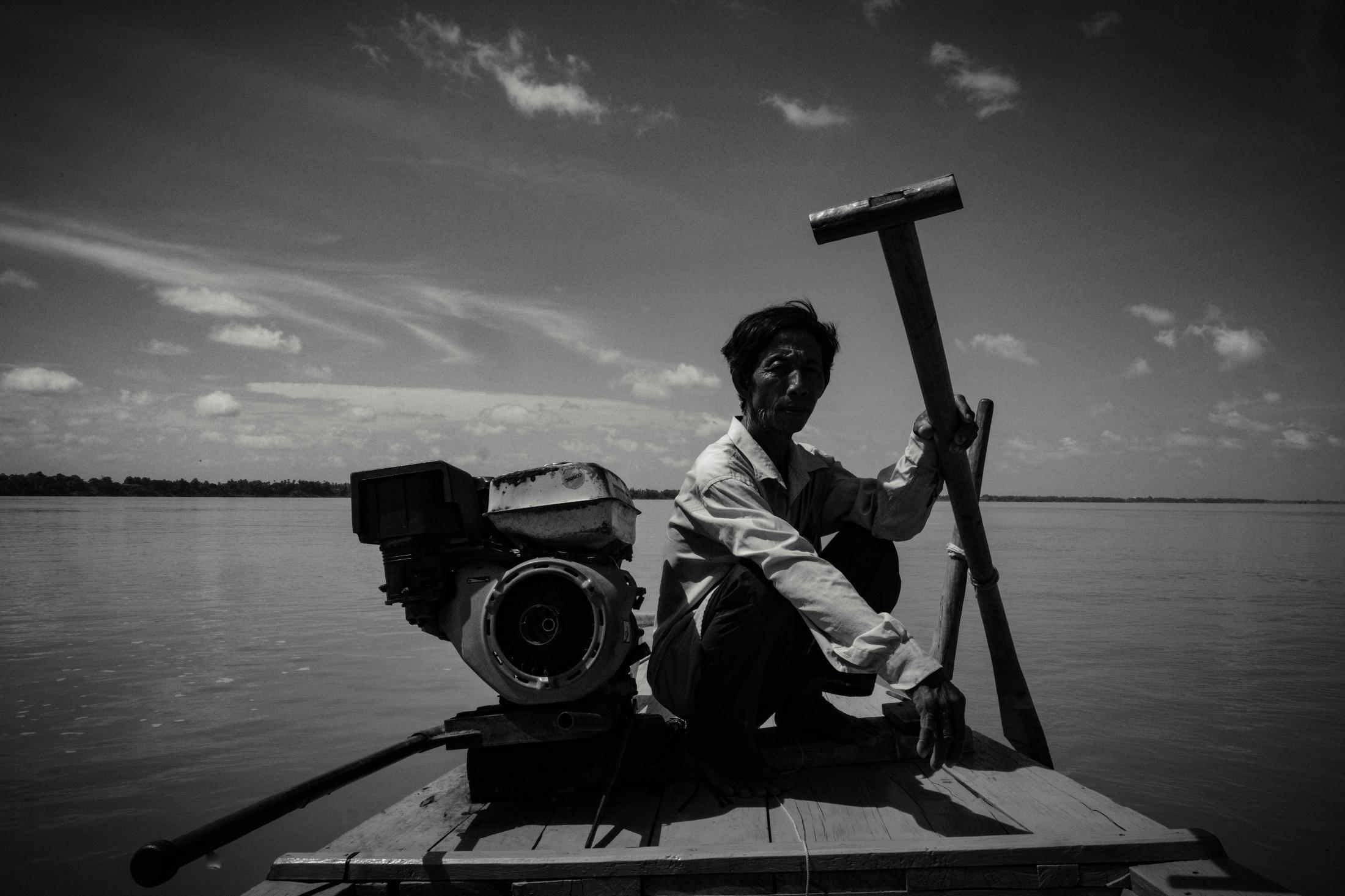 <p>River Guide, Kratie, Cambodia</p>