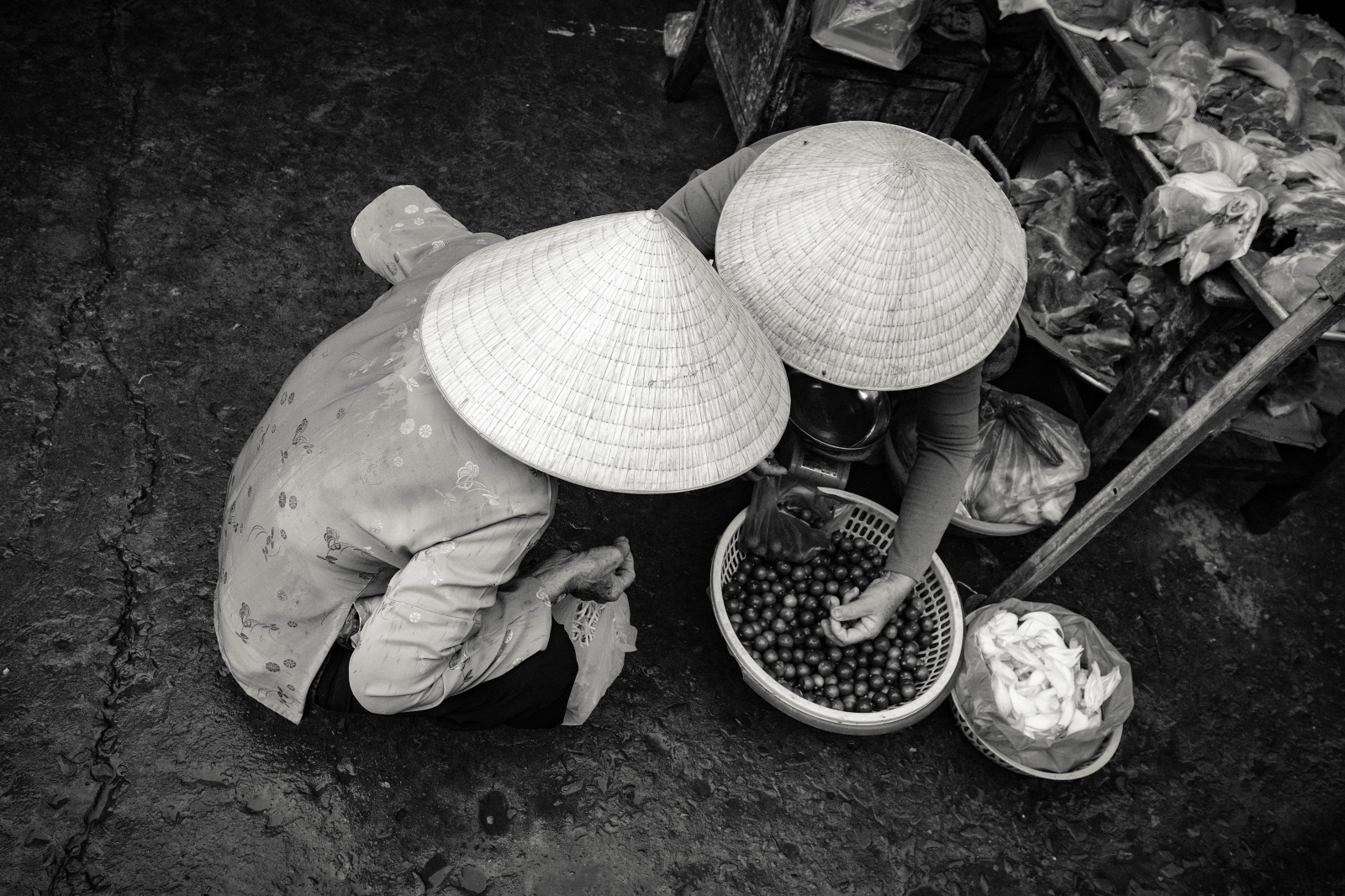Photography image -  Old Market, Can Tho, Mekong Delta