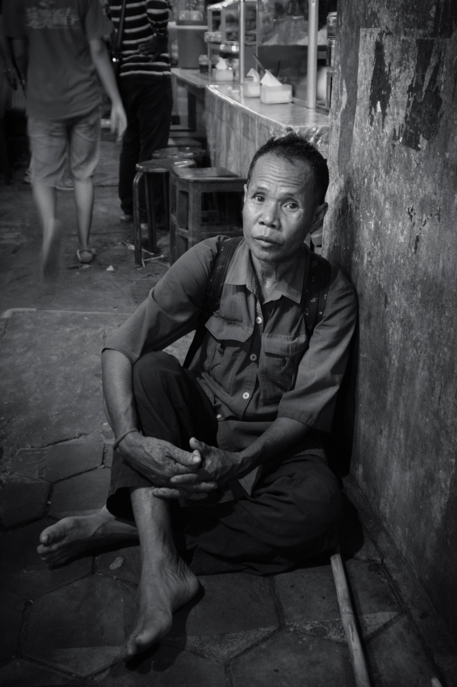 Photography image -  Old Market, Siem Reap, Cambodia