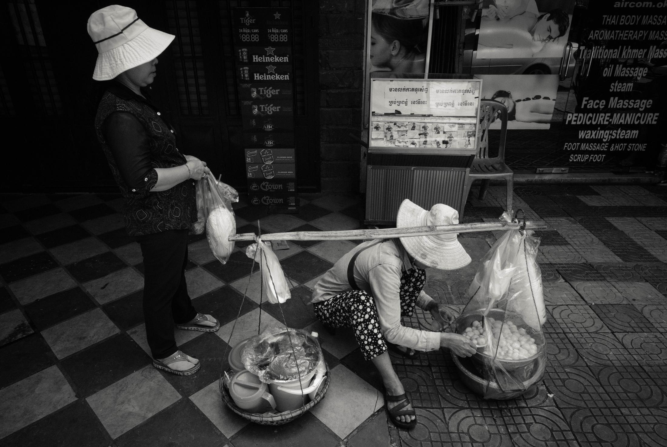 <p>Street Food, Phnom Penh</p>