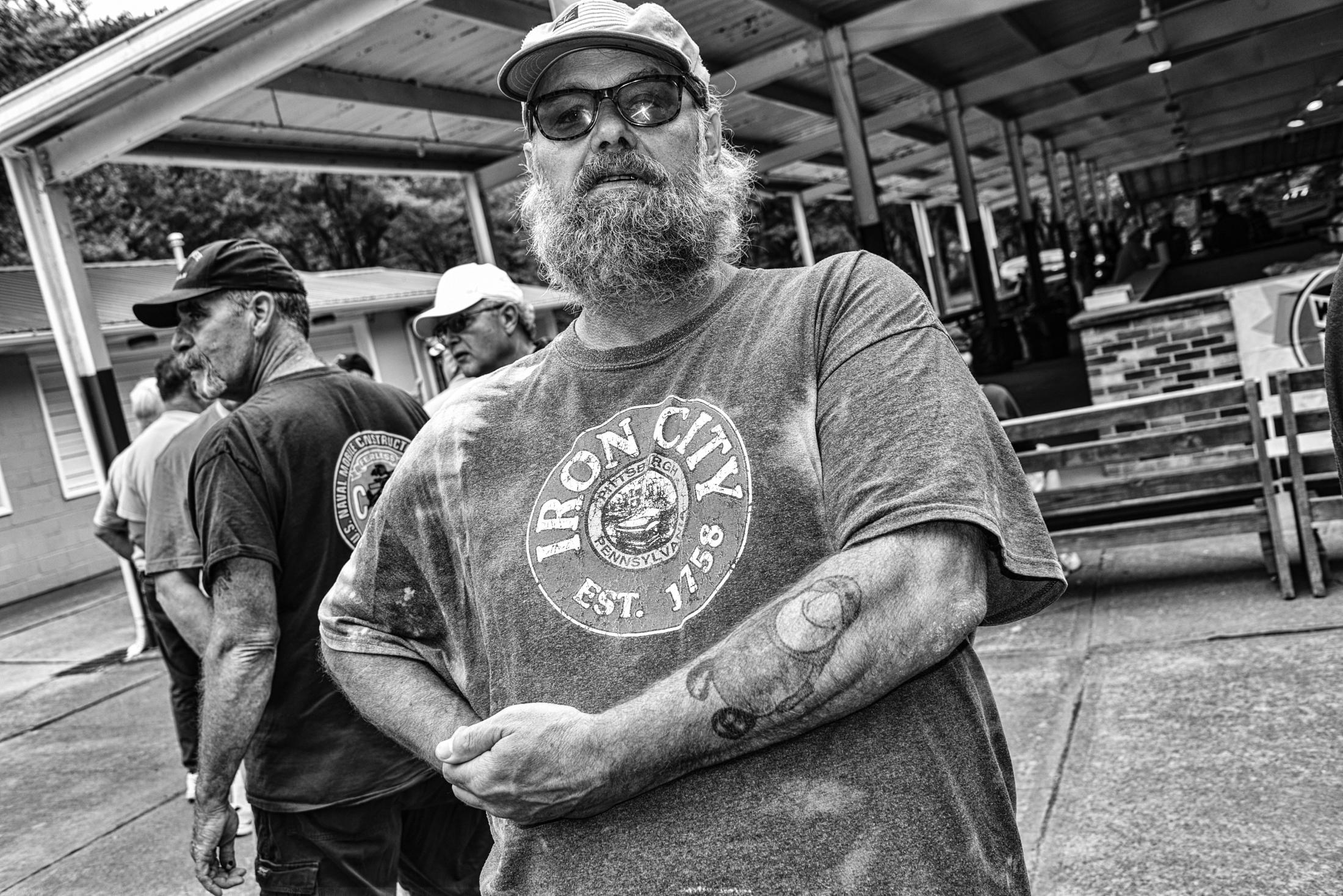 """I bleed graphite,""- Stan Radeski, Weirton WVA"