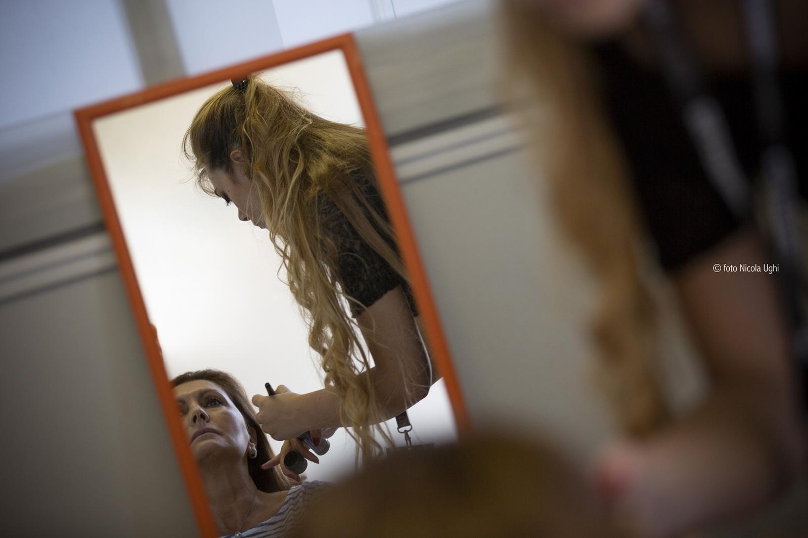 preparation of the soprano Paola Sanguinetti