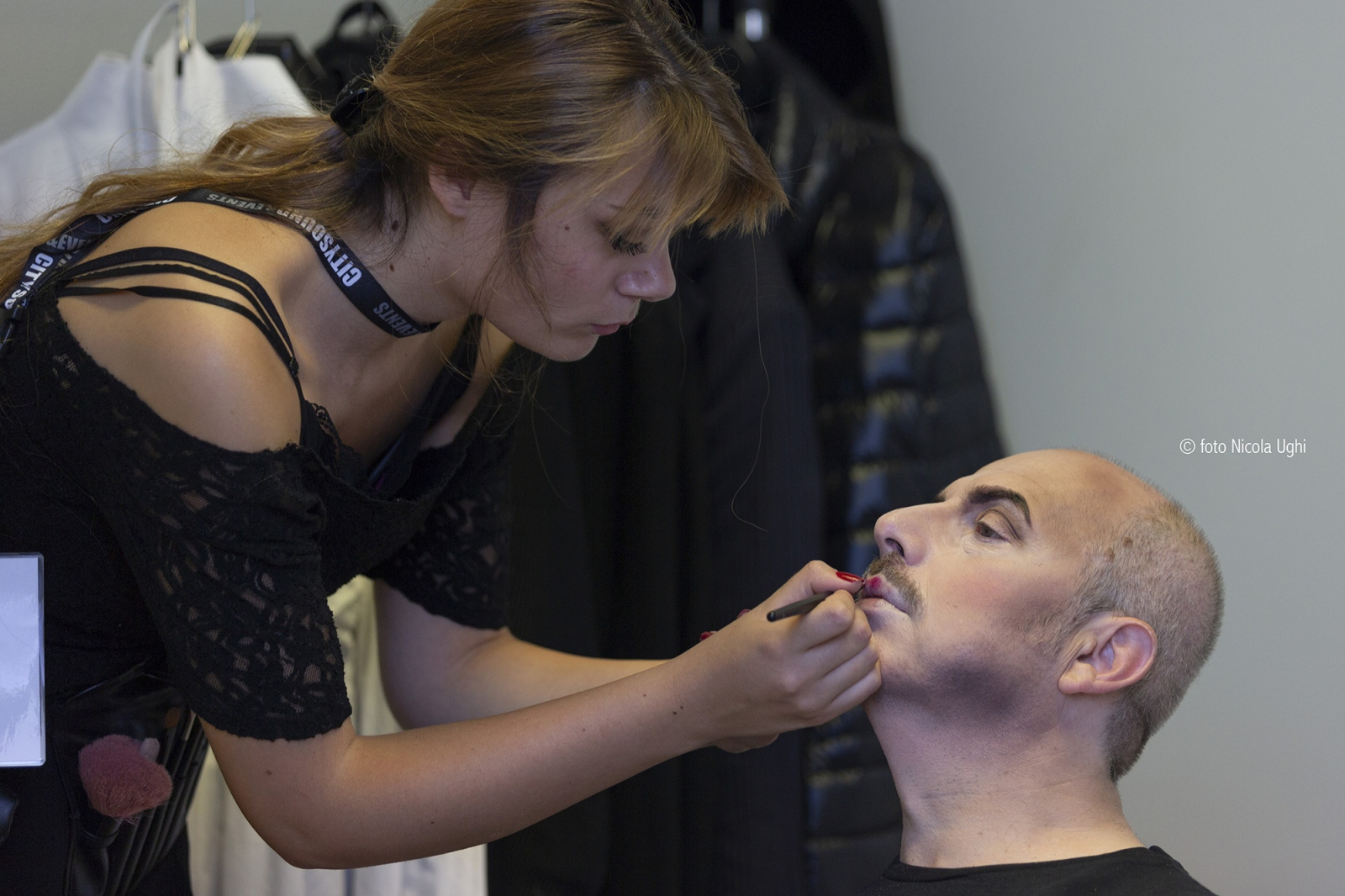 preparation of the baritone Vladimir Stoyanov