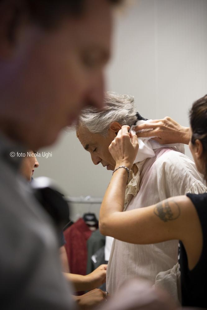 Andrea Bocelli as Andrea Chenier