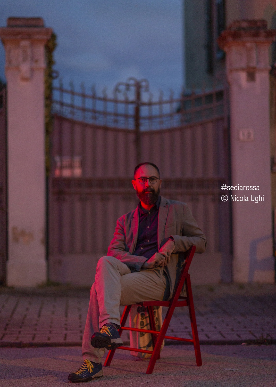 The poet and writer Matteo Pelliti