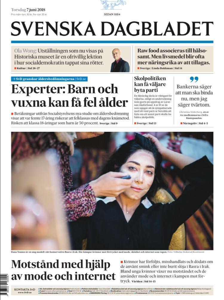 Resistance with fashion, Svenska Dagbladet, 2018.