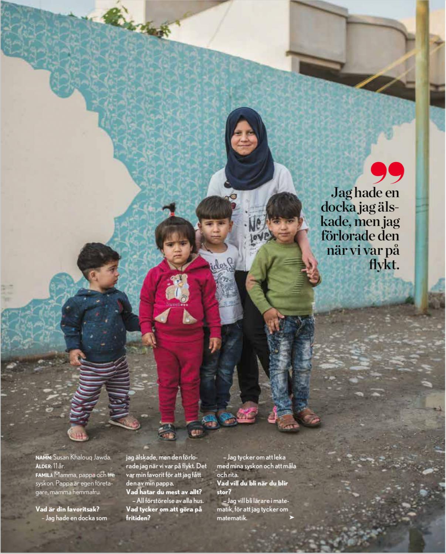 Children of Mosul, Tidningen Vi, 2018.