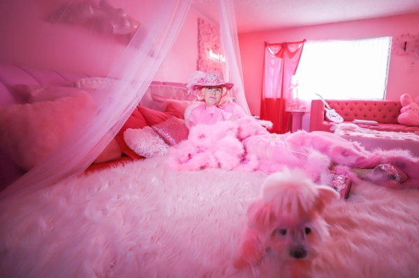Kitten Kay Sera says she has spent $1.5 million on all her pink items.