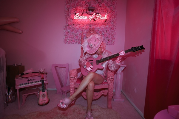 "Queen of Pink, Kitten Kay Sera recently released a single titled, ""Queen Of Pink""."
