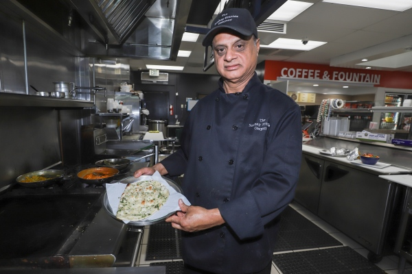 When Chef Kamal Singh lost the lease to his restaurant, he went to his family friends to suggest opening an Indian restaurant inside their gas station.