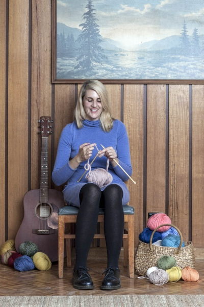 Musician, Laura Jean for Frankie Magazine and Spotlight.