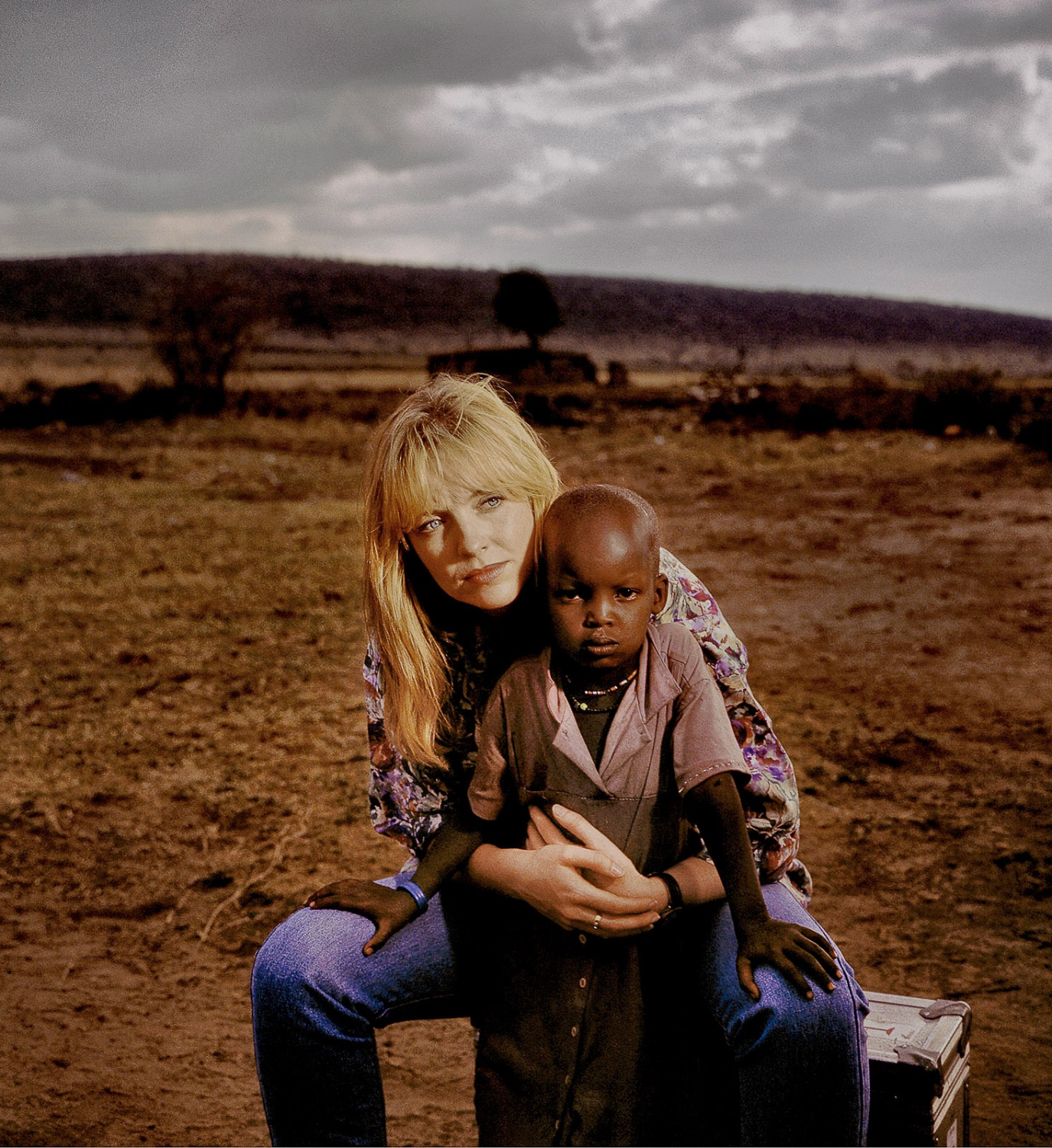 Rebecca and girl child, Kenya, World Vision