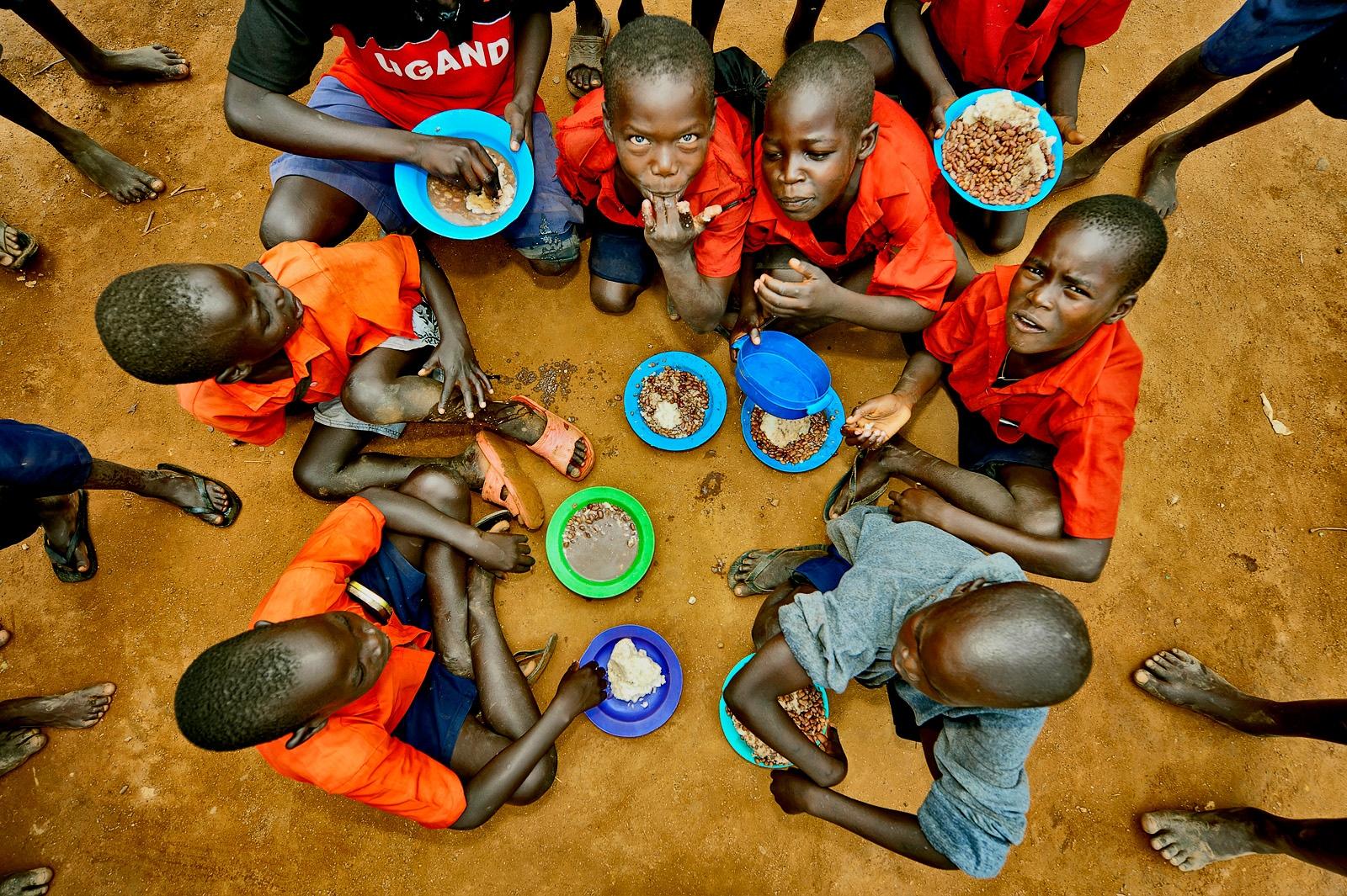 Lunchtime, Irene Gleeson Foundation, Uganda