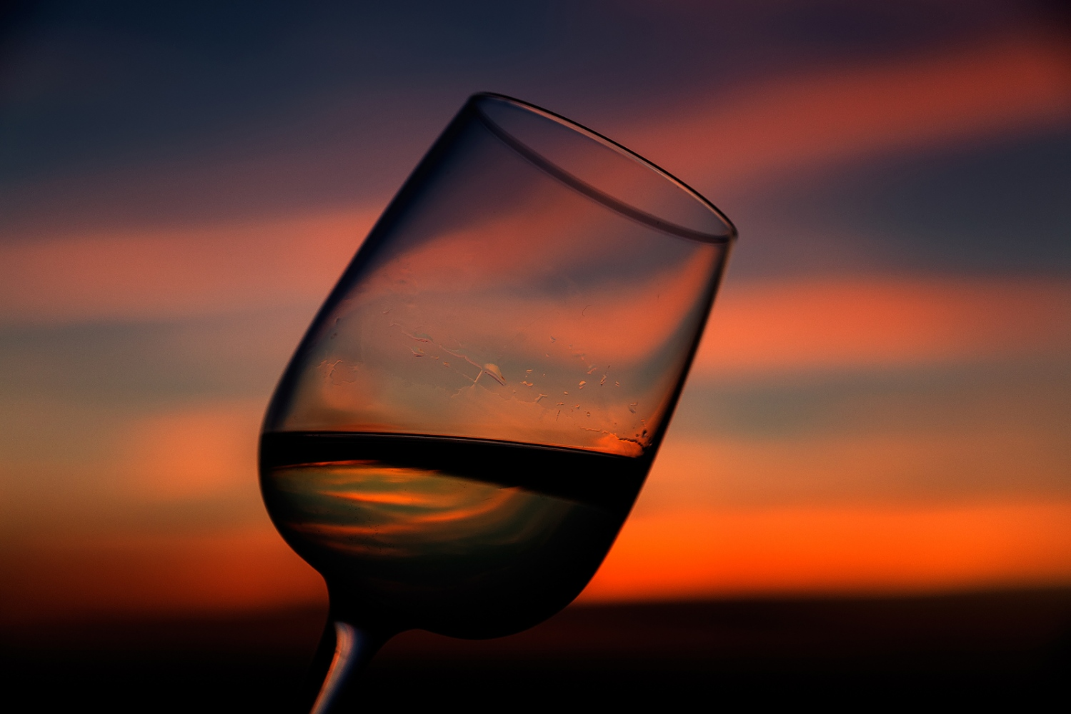 Sunset Wine.