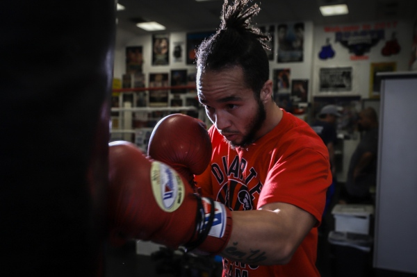 Pat Manuel is struggling to get an opponent willing to get in the ring with him.  When most boxers find out he used to be a woman, they back out.