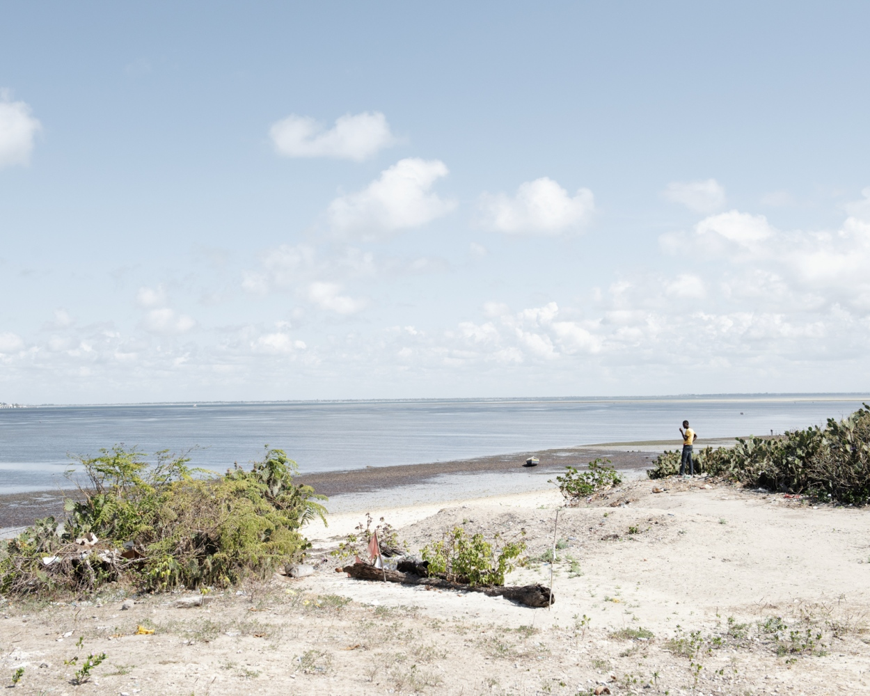 A view of the coast near Ilha de Mozambique.