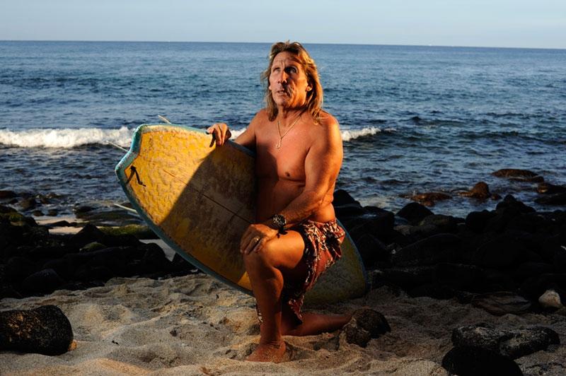 Surfer, Kailua-Kona Hawaii
