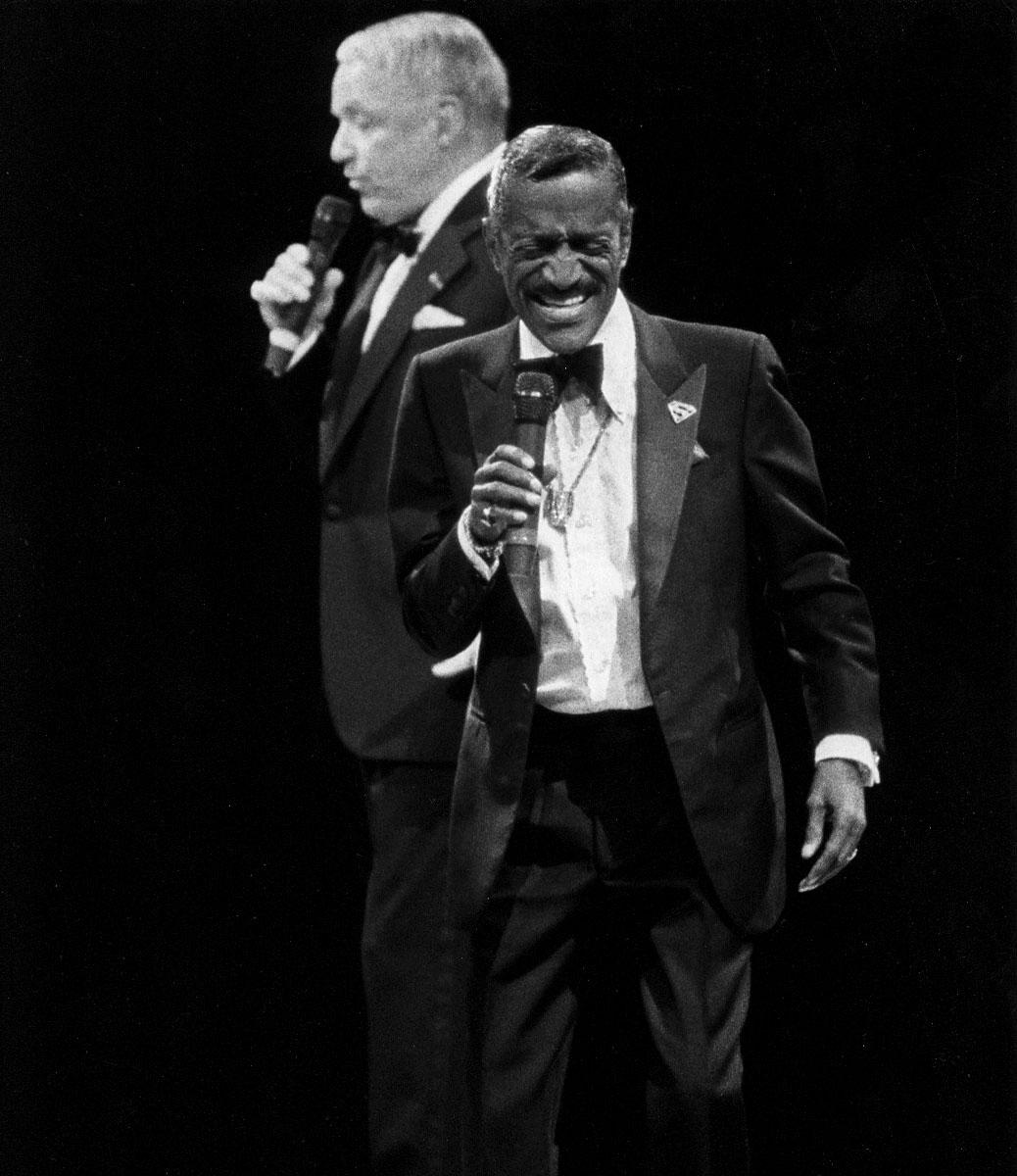 Sammy Davis Jr. and Frank Sinatra The Rat Pack Tour