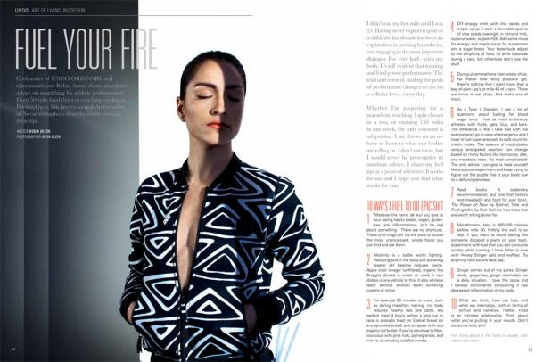 UNDO Magazine    Robin Arzon