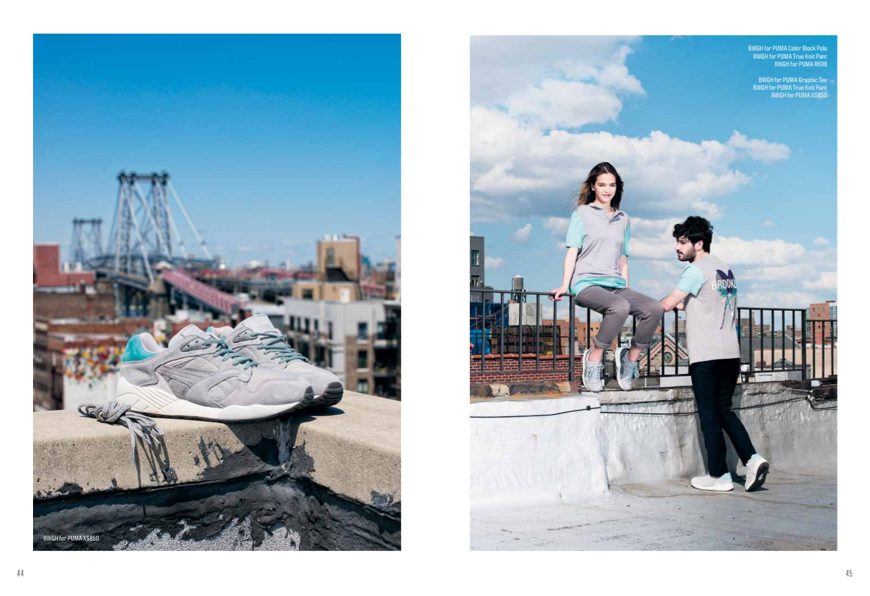 PUMA & BWGH LOOKBOOK