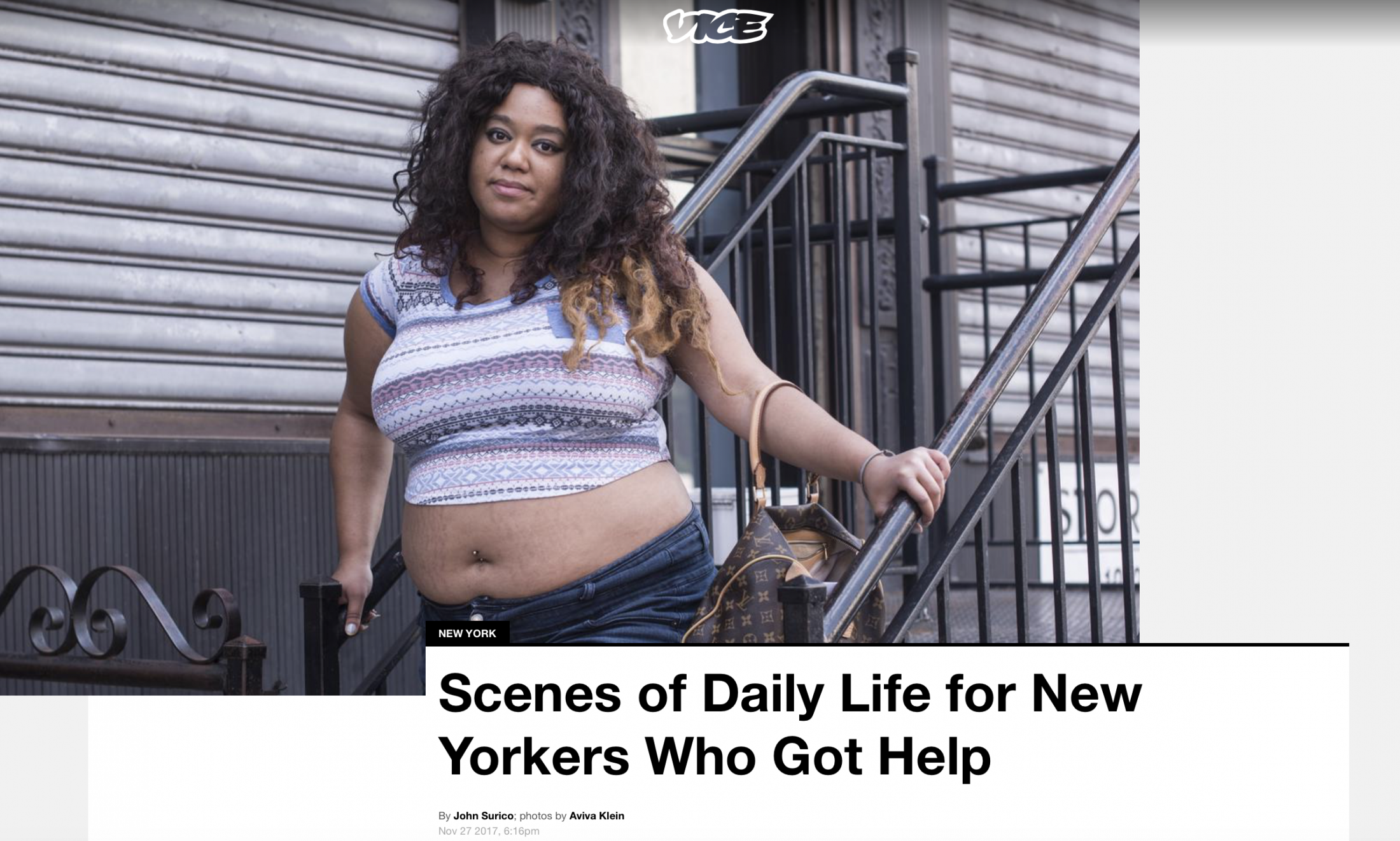 VICE Scenes of Daily Life for New Yorkers Who Got Help