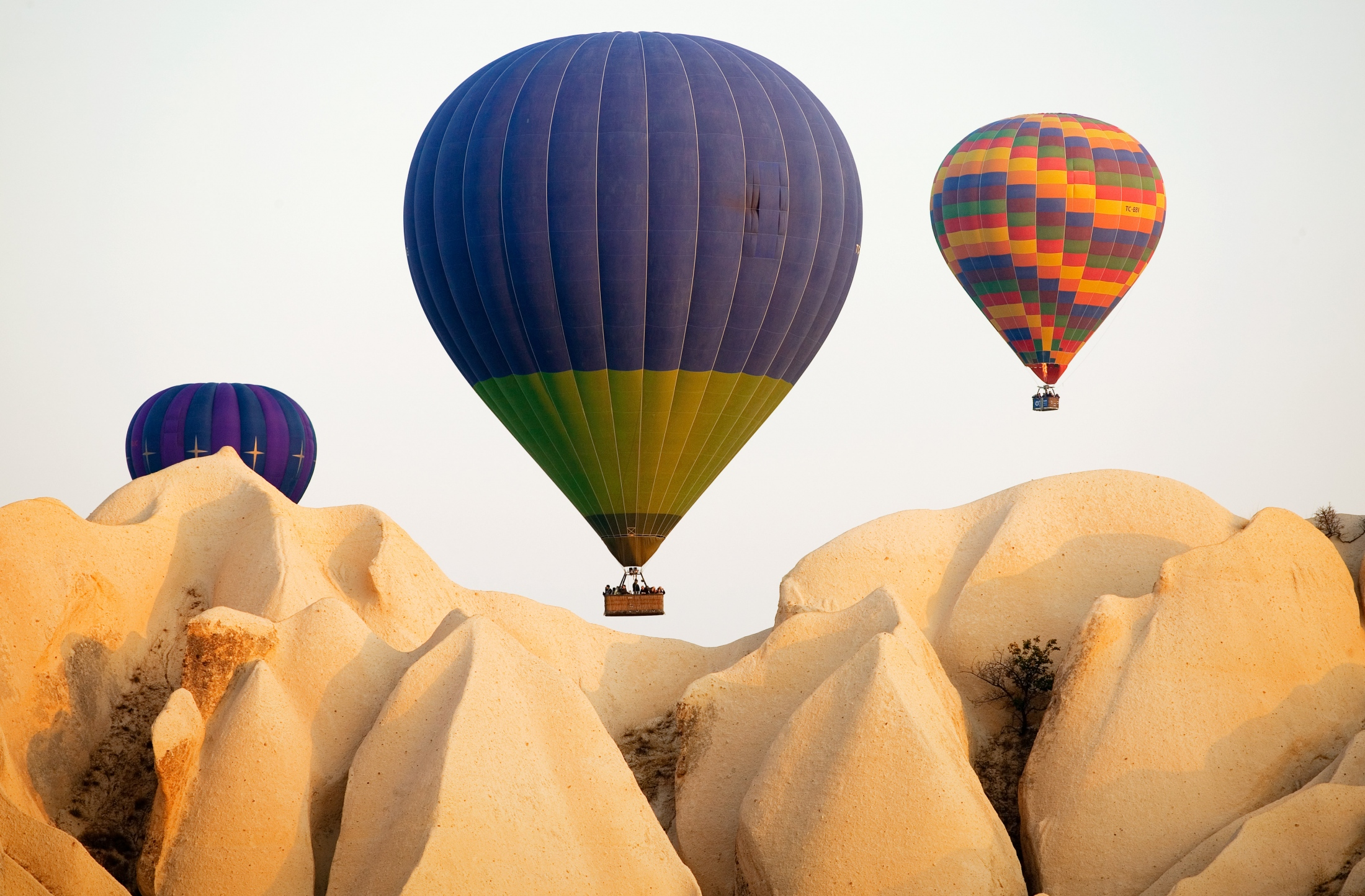 Hot air balloons, Cappadocia Turkey