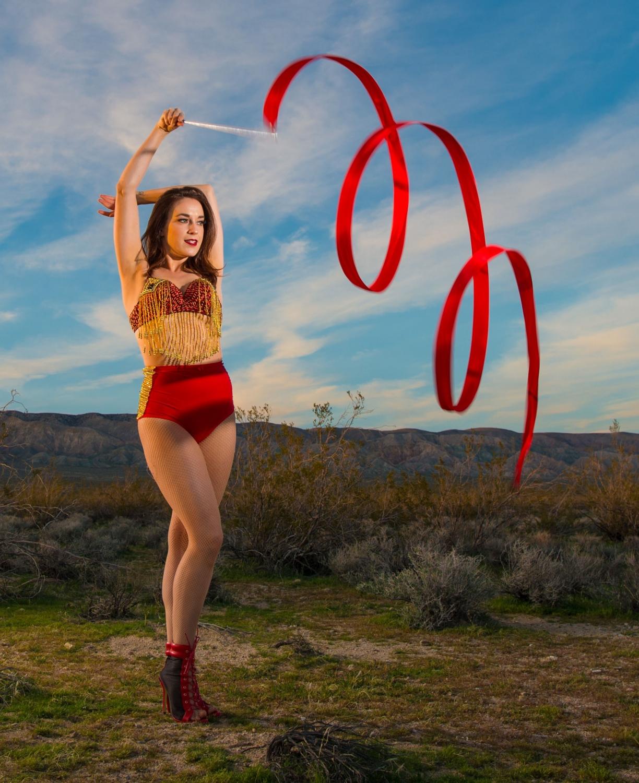 Dancer, Mojave Desert