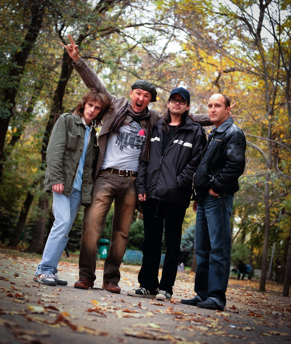 Kazakh rock band Motor-Roller, Almaty Kazakhstan