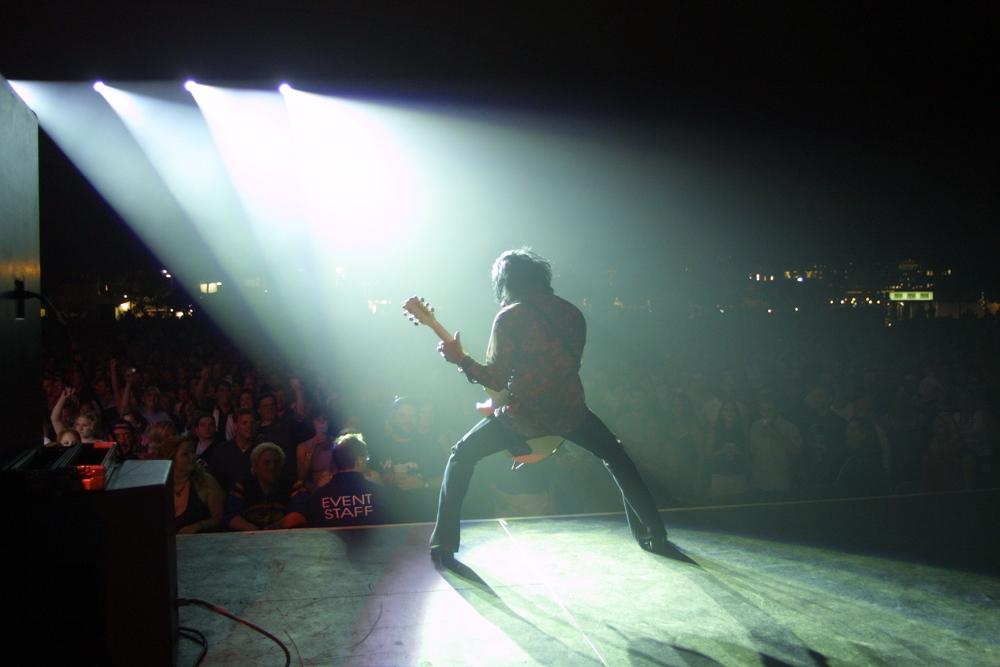 Guitarist Steve Stevens Billy Idol Tour