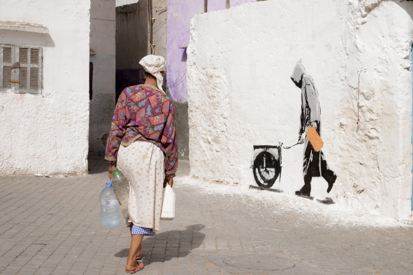 Intersections- in the labyrinth of Morocco