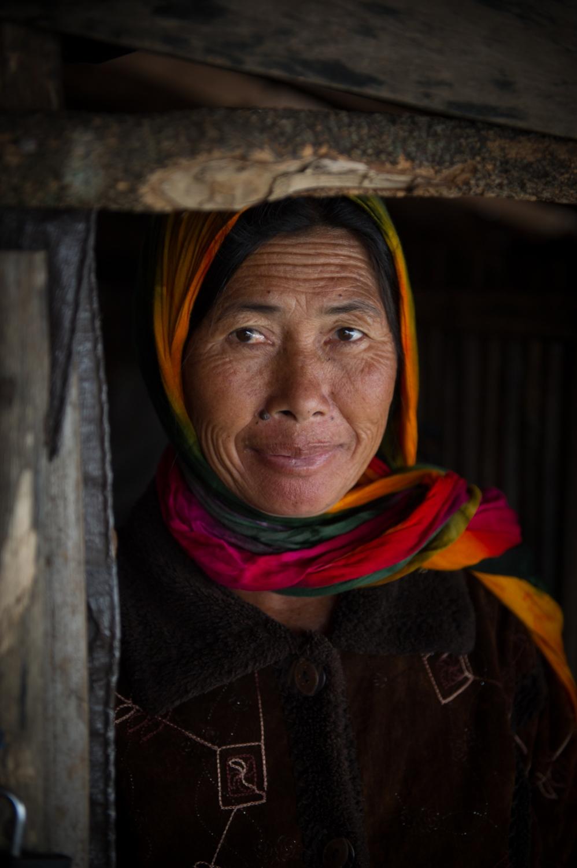 Balinese woman, Mt. Batur Bali