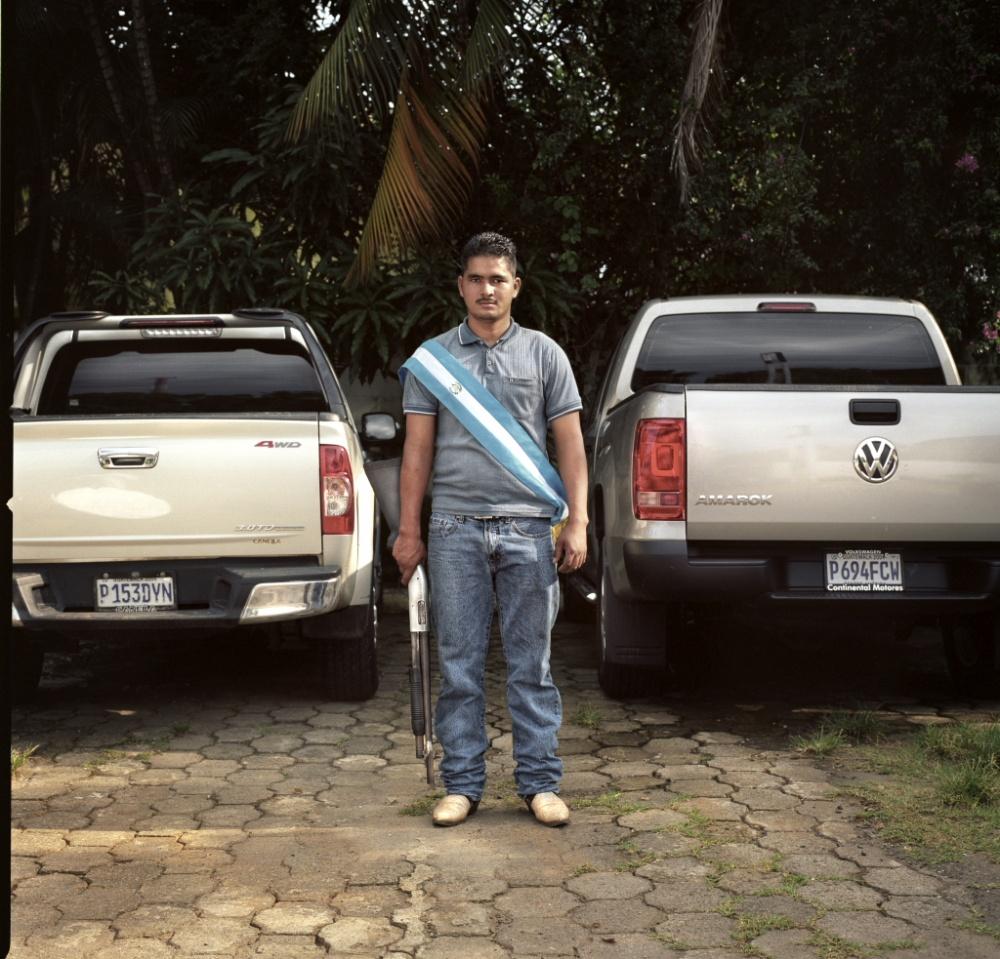 Yo no soy de acá realmente... soy de oriente y pues toda mi familia vive por alla (en Coatepeque)