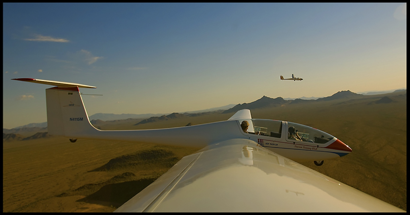 Gliders in Arizona for Boys Life magazine.