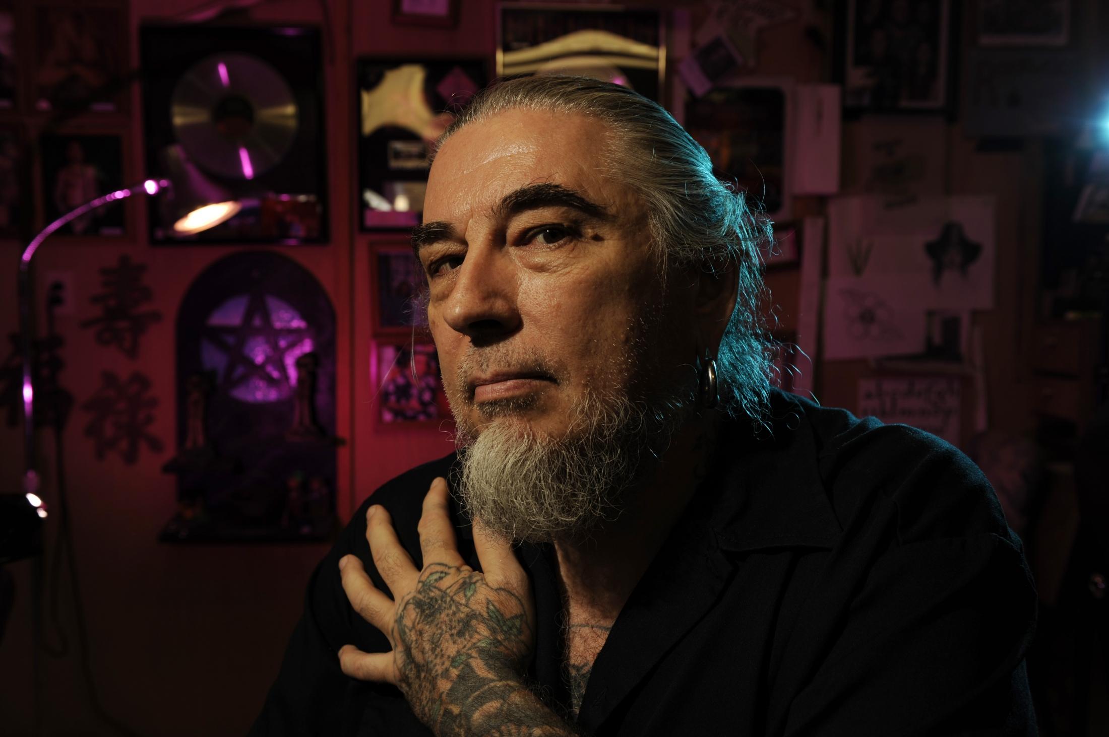 Tattoo artist Rockwood Photographed in Kailua-Kona, Hawaii