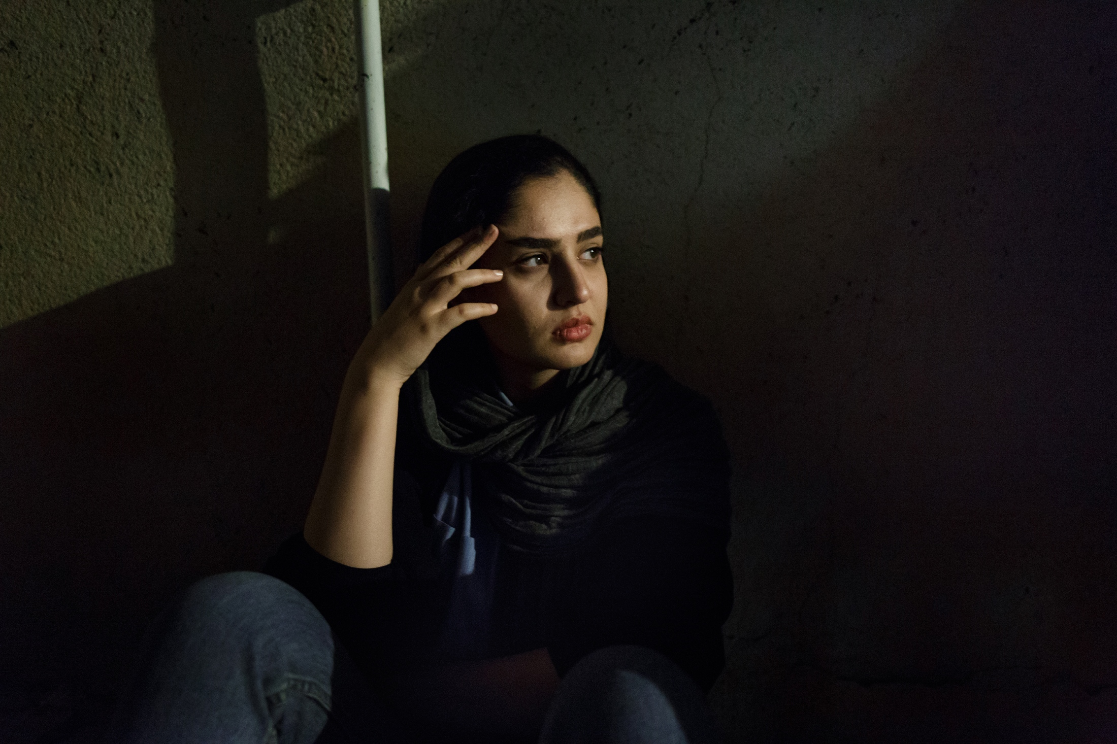"""""""It seems as we do not belong anywhere. We strive for a better life, but we can not nd it here. """"- Sara, 22, is from Sanandaj and studied psychology. She longs for a place of hope."""