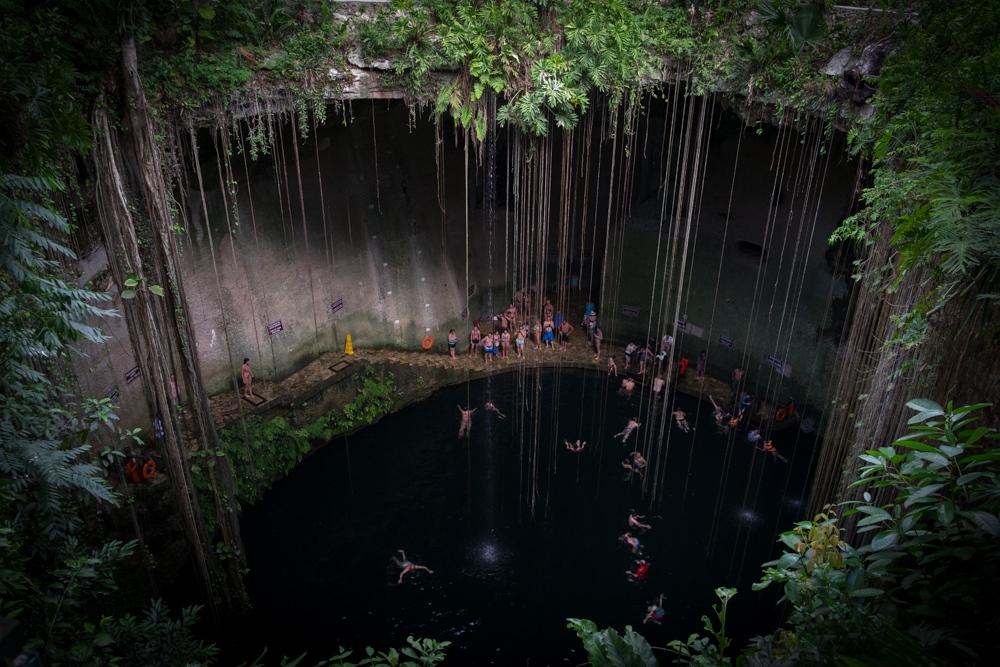 Ik Kil Cenote Yucatan, Mexico