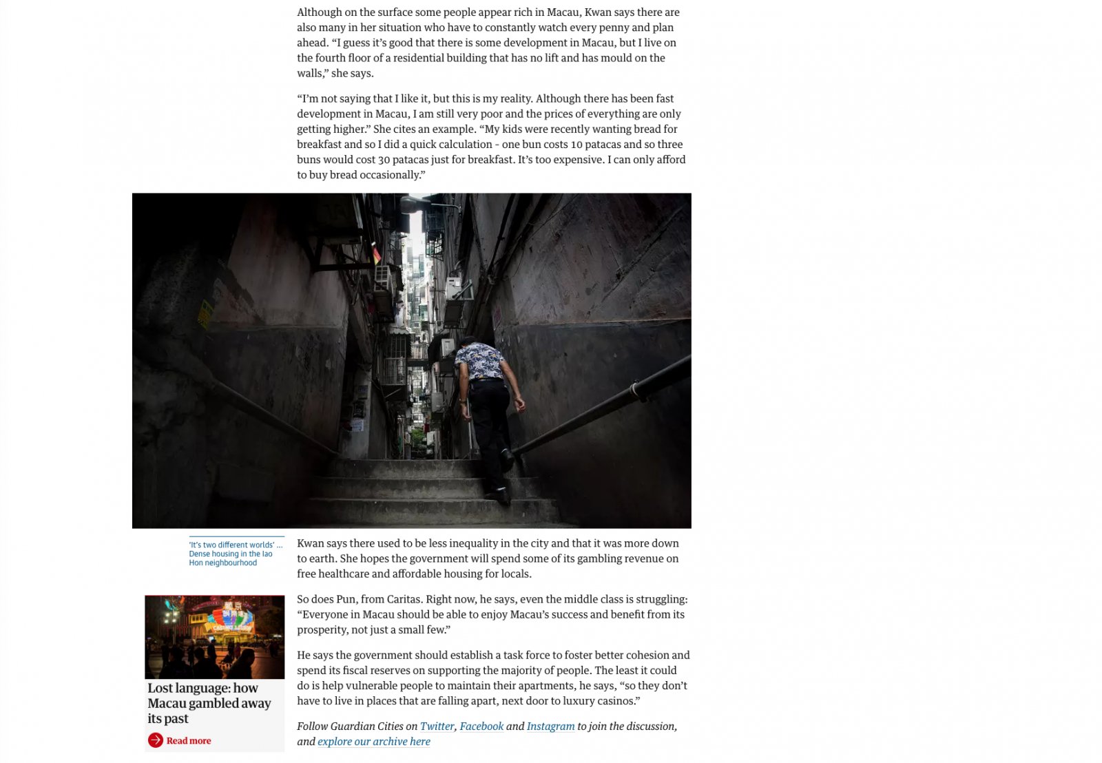 Gonçalo Lobo Pinheiro | Multibillion-dollar Macau: a city of