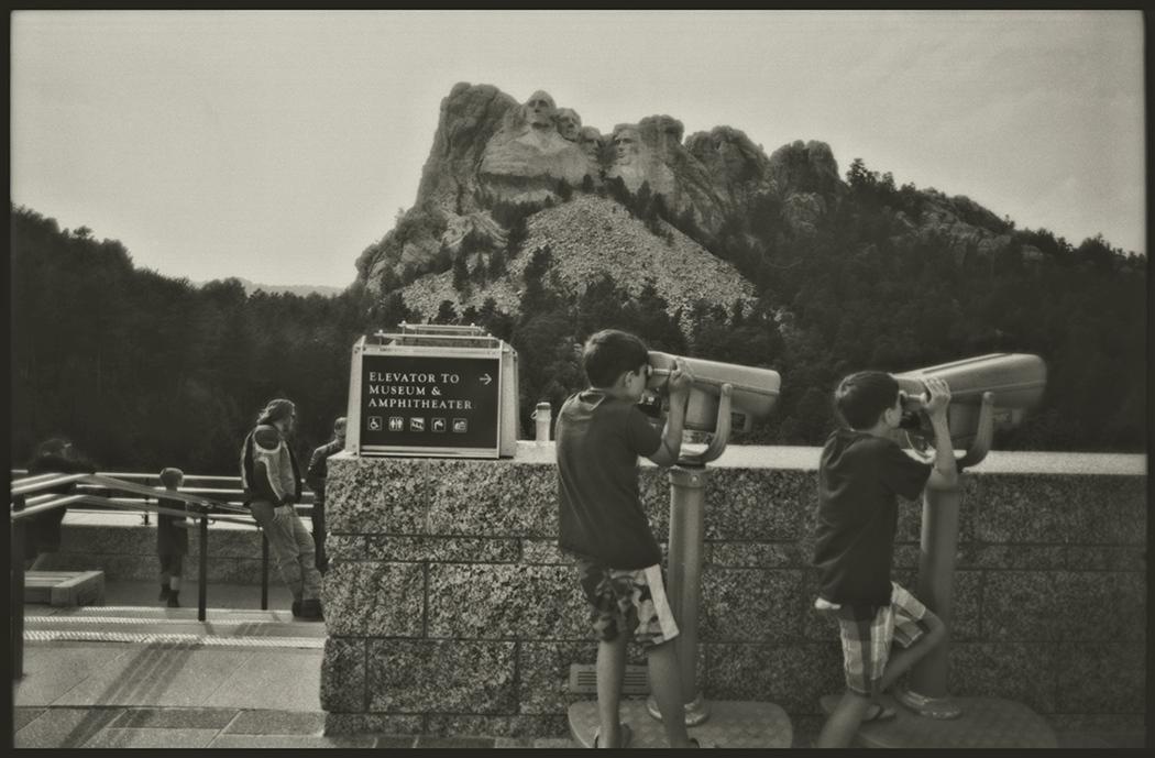 Mt. Rushmore, National Monument, South Dakota, August 2015.
