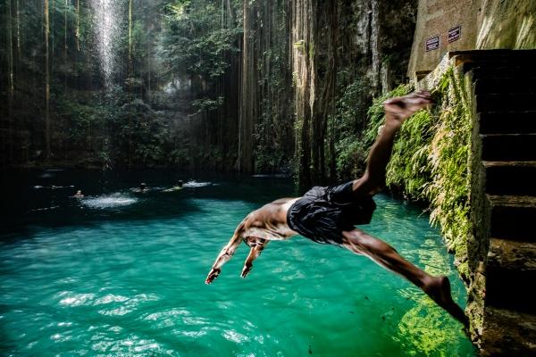 El Cenote, Yucatan Peninsula.