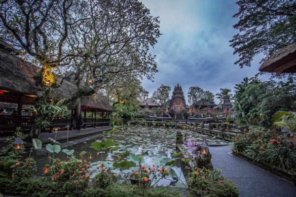 Lotus Cafe, Bali.