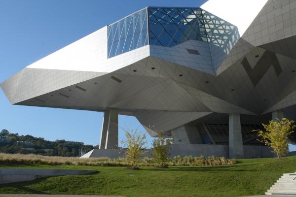Musée des Confluences Coop Himmelb(l)au Lyon, France.