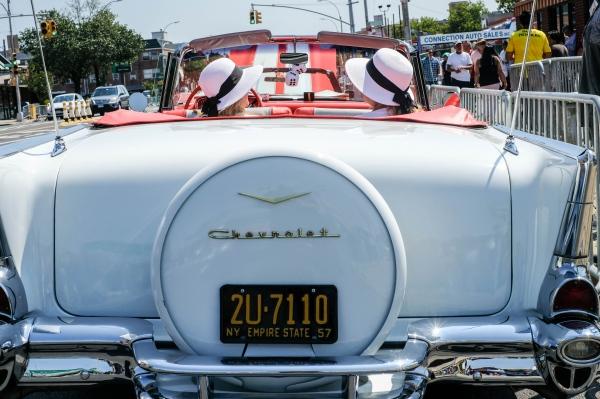 The Ecuadorian Day parade. Jackson Heights, July 2018