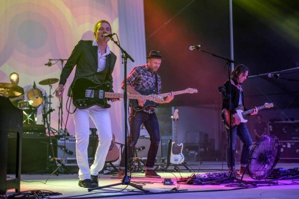 Indie-pop band Belle & Sebastian at Forest Hills Stadium. June 2018