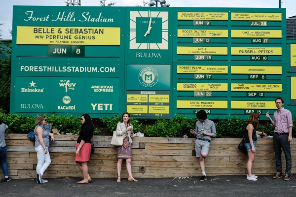 Forest Hills Stadium now an alternative to Madison Square Garden for big-name acts. June 2018