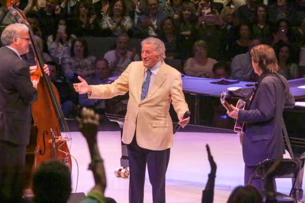 Tony Bennet on 90th birthday tour. Westbury, LI. April 2017