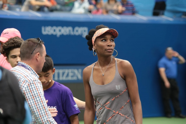 Venus Williams at US Open. Flushing Meadows, August 2016