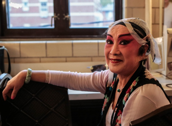 Backstage at the Chinese Opera. Flushing Town Hall, June 2018