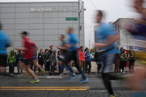 New York City Marathon. Long Island City, November 2017